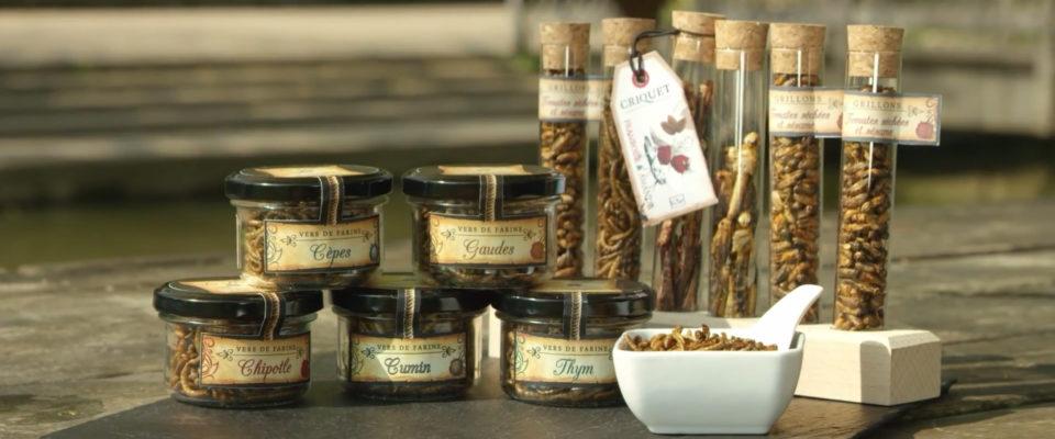 La freca - Entomovia - Insectes comestibles - Film présentation produit