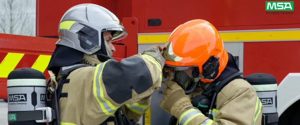 Film vidéo MSA présentation produit - SDIS ain pompiers
