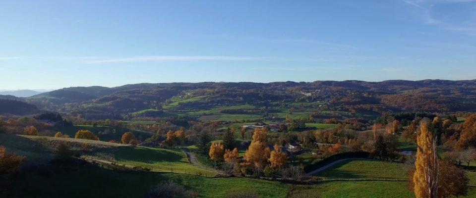 Ardèche en drone