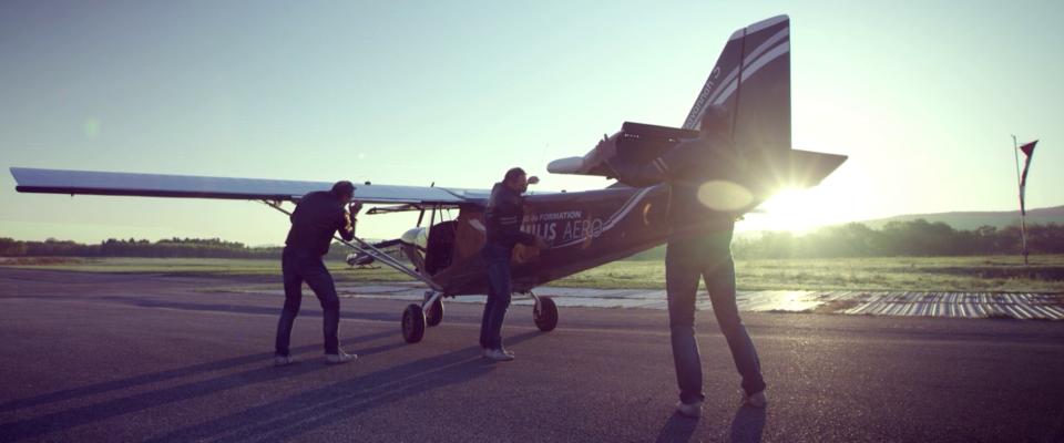 Film publicitaire Gemilis Aéro - Aérodrôme - Terre des hommes Jasseron