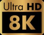 Icône Ultra HD 8K