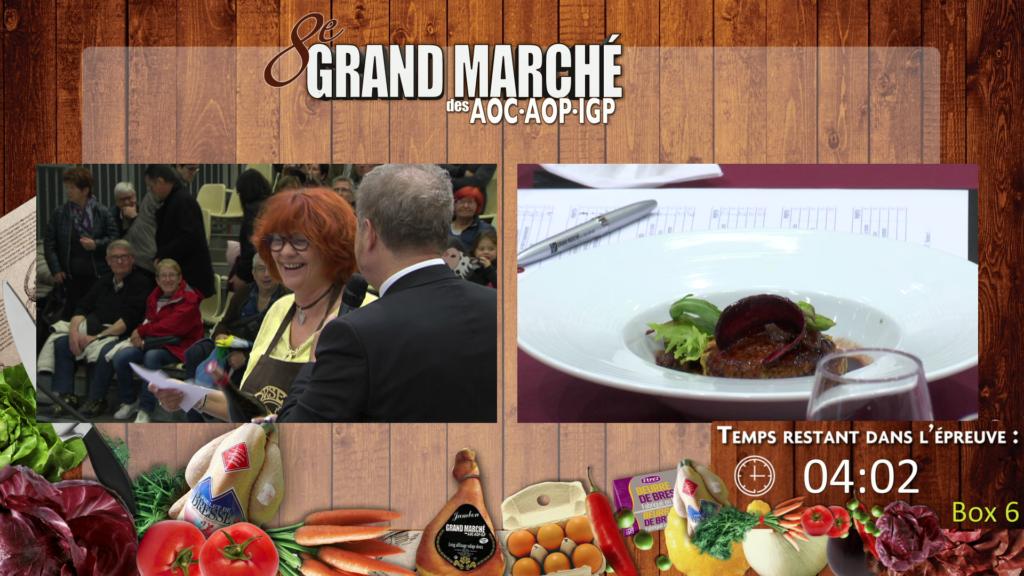 Grand Marché des AOC - Ainterexpo - Concours cuisine