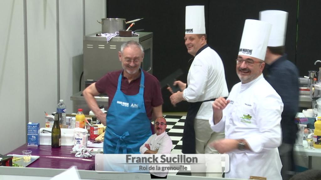 Grand Marché des AOC - Ainterexpo - Concours cuisine - Franck Sucillon
