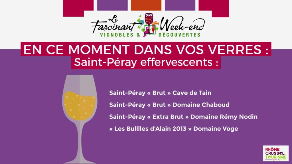Le Fascinant Week-end - Mets et vins - Saint-Péray