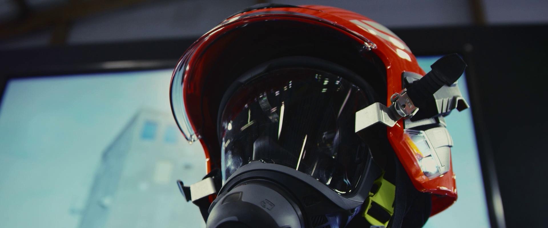 Casque MSA - Congrès national des sapeurs-pompiers
