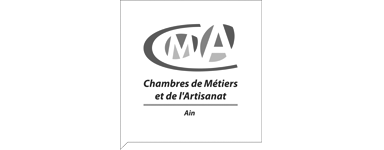 Logo CMA01 noir et blanc