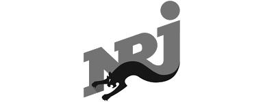 Logo NRJ noir et blanc