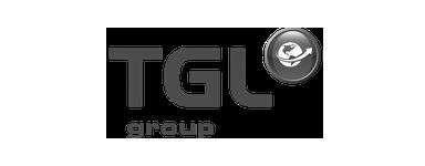 Logo TGL Group noir et blanc