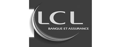 Logo LCL noir et blanc