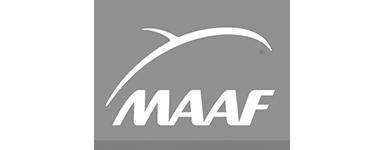 Logo MAAF noir et blanc