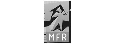 Logo MFR noir et blanc