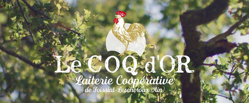 Publicité cinéma - Laiterie Le Coq d'Or - Foissiat